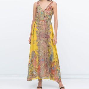 Zara summer maxi dress